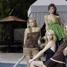 Wallpaper: il cast principale della stagione 1 di The Hills