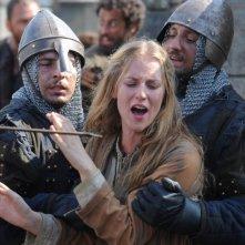 Federica Martinelli in una scena del film Barbarossa diretto da Renzo Martinelli