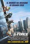 La locandina italiana di G-Force: Superspie in missione