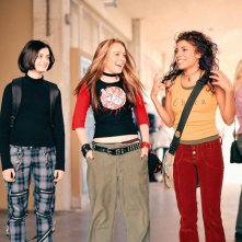 Haley Hudson, Lindsay Lohan e Christina Vidal in una scena del film Freaky Friday