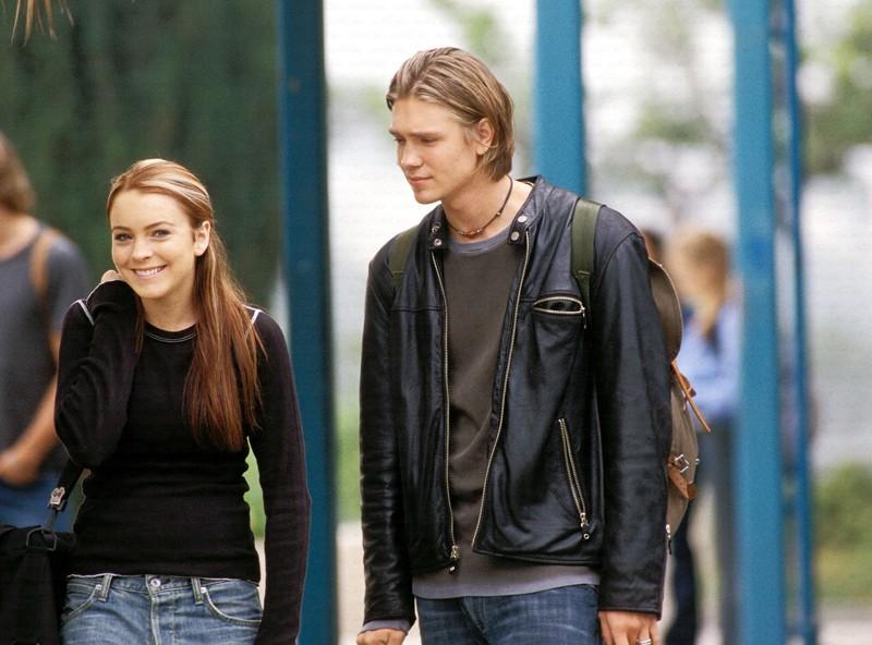 Lindsay Lohan Annabell E Chad Michael Murray Jake In Una Sequenza Del Film Quel Pazzo Venerdi 131084