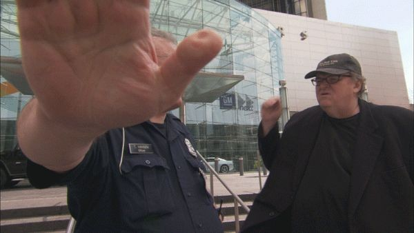 Michael Moore In Una Scena Di Capitalism A Love Story 131099