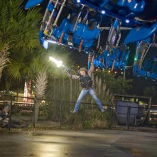 Woody Harrelson in un'immagine del film Zombieland
