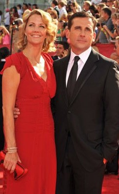 Emmy Awards 2009 Steve E Nancy Carell 131301