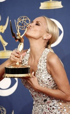 Emmy Awards 2009: una raggiante Kristin Chenoweth premiata per Pushing Daisies