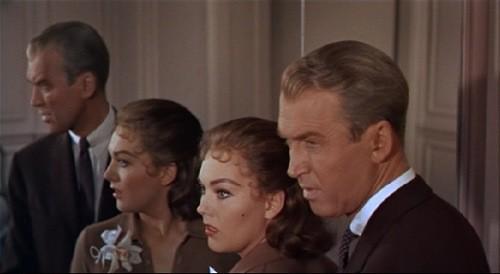 James Stewart E Kim Novak In Una Bella Sequenza Del Film La Donna Che Visse Due Volte 1958 131394