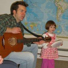 Jason e Ellie in un'immagine del documentario Il silenzio prima della musica