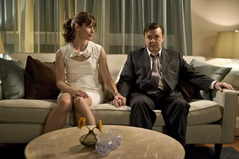 Jennifer Garner E Ricky Gervais In Un Immagine Del Film The Invention Of Lying 131201