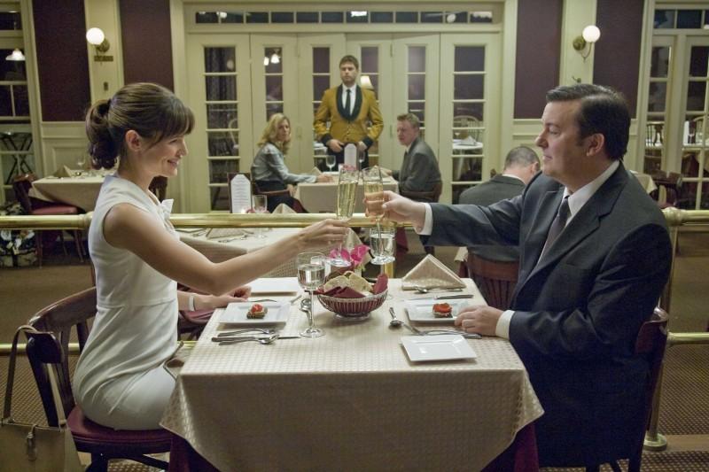 Jennifer Garner E Ricky Gervais In Una Scena Di The Invention Of Lying 131194