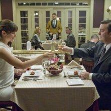 Jennifer Garner e Ricky Gervais in una scena di The Invention of Lying