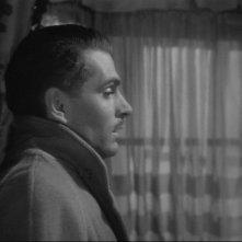 Laurence Olivier in una scena del film Rebecca, la prima moglie ( 1940 )