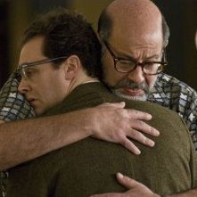 Michael Stuhlbarg e Fred Melamed in un'immagine del film A Serious Man