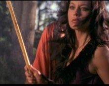Musetta Vander nel film tv Forbidden Warrior