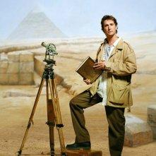 Noah Wyle è Flynn Carsen in un'immagine promo del film The Librarian: Quest for the Spear