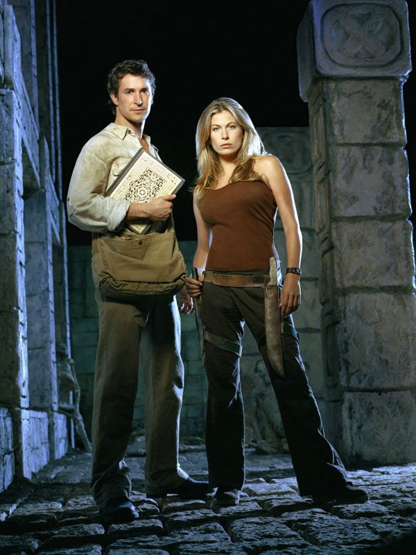 Noah Wyle E Sonya Walger Per Il Film The Librarian Quest For The Spear 131407