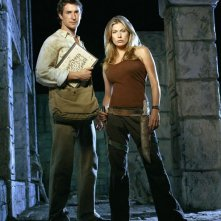 Noah Wyle e Sonya Walger per il film The Librarian: Quest for the Spear