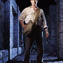 Noah Wyle in un'immagine promozionale per il film The Librarian: Quest for the Spear