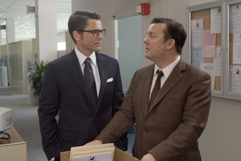 Rob Lowe E Ricky Gervais In Una Scena Del Film The Invention Of Lying 131199
