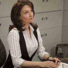 Tina Fey in una scena del film The Invention of Lying