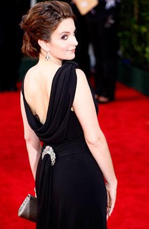 Tina Fey sul tappeto rosso degli Emmy Awards 2009
