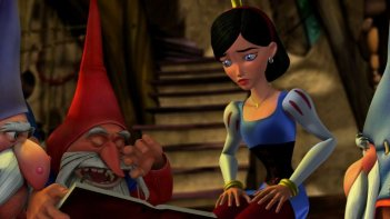 Un'immagine tratta dal film d'animazione Biancaneve e gli 007 nani