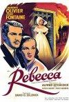 Una bella locandina del film Rebecca, la prima moglie ( 1940 )