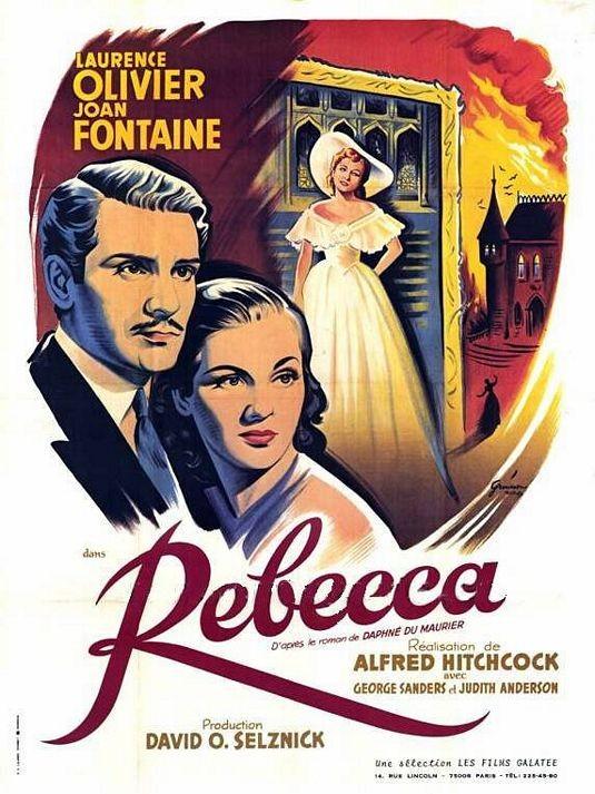 Una Bella Locandina Del Film Rebecca La Prima Moglie 1940 131360