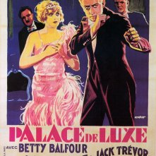 Una bella locandina del film Tabarin di lusso (1928)