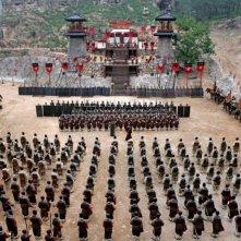 Una scena de La battaglia dei tre regni