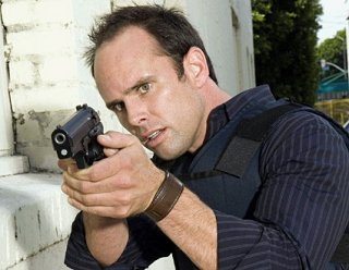 Walton Goggins nel ruolo del detective Shane Vendrell in The Shield