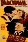 Poster a colori del film Ricatto - Blackmail