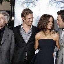 Tom Skerritt, Gabriel Macht, Kate Beckinsale e Alex O'Loughlin alla premiere del film Whiteout - Incubo bianco, a Los Angeles, il 9 Settembre 2009