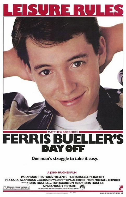 Poster Originale Per Ferris Bueller S Day Off 131722