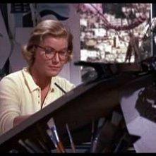 Barbara Bel Geddes in una immagine del film La donna che visse due volte ( 1958 )