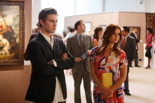 Chace Crawford (Nate) e Joanna Garcia (Bree) in una scena dell'episodio The Lost Boy di Gossip Girl