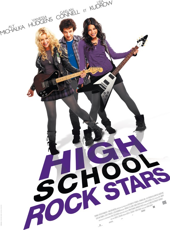 Il Poster Francese Del Film High School Rock Stars 131890