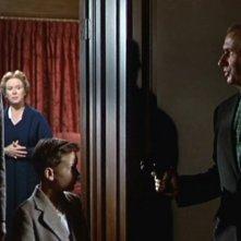 James Stewart con Bernard Miles, Christopher Olsen e Brenda De Banzie ne L\'uomo che sapeva troppo