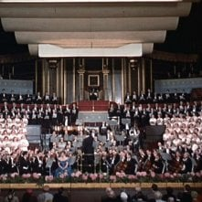 La celebre sequenza alla Albert Hall del film L\'uomo che sapeva troppo ( 1956 )