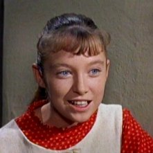 Primo piano di Veronica Cartwright in una scena del film Gli uccelli (1963 )