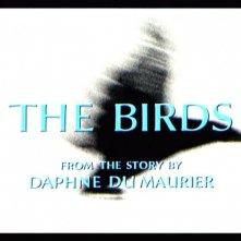 Titoli di testa del film Gli uccelli ( 1963 )