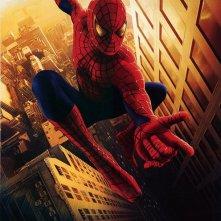 Un secondo poster pubblicitario di Spider-Man