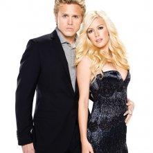 Spencer Pratt e Heidi Montag in posa per la stagione 5 di The Hills