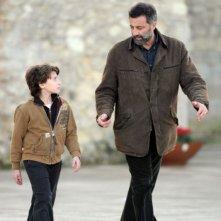 Celeste Cuppone e Luca Barbareschi in una scena della terza stagione della serie tv Nebbie e delitti