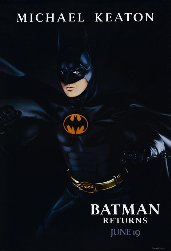 Il Character Poster Americano Di Batman Per Il Film Batman Il Ritorno 132080