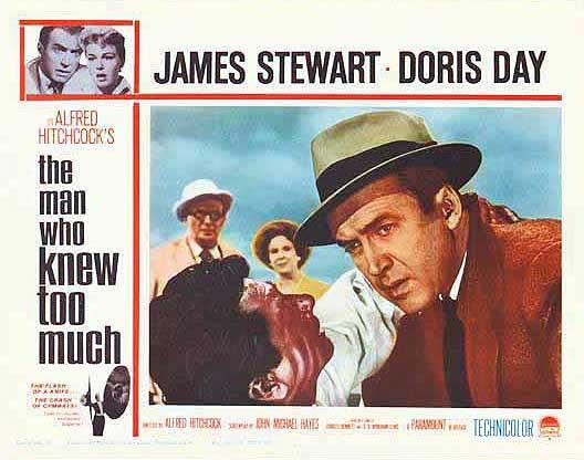 James Stewart E Daniel Gelin In Una Lobbycard Promozionale Del Film L Uomo Che Sapeva Troppo 132047