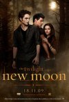 La locandina di The Twilight Saga: New Moon diffusa da Eagle Pictures con la nuova data d'uscita Italiana