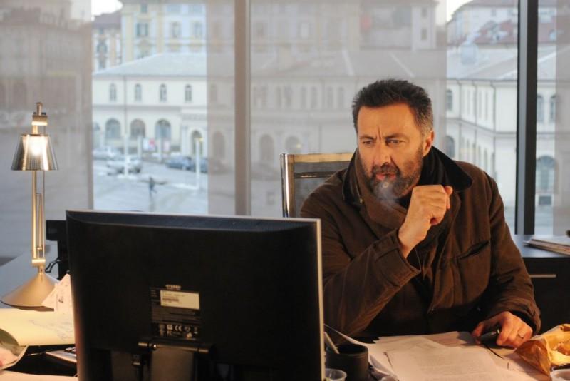 Luca Barbareschi E Il Protagonista Della Serie Tv Nebbie E Delitti 132031