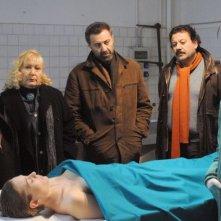 Luca Barbareschi in una sequenza della serie tv Nebbie e delitti