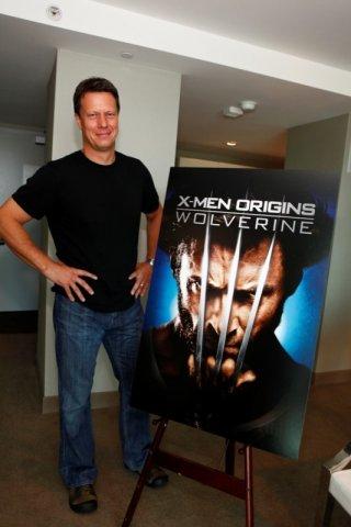 Il regista Gavin Hood a Los Angeles per presentare il blu-ray di X-Men - Le origni: Wolverine