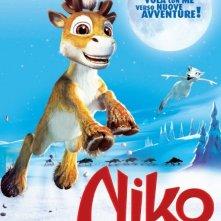 Secondo poster italiano per Niko una renna per amico